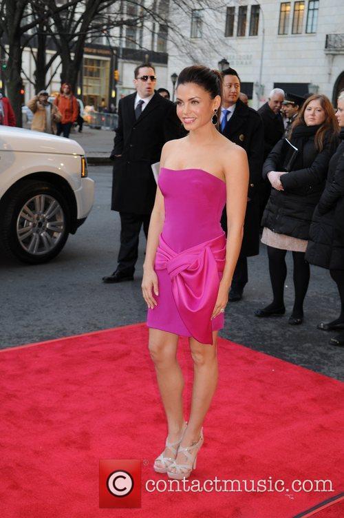 Jenna Dewan Mercedes-Benz Fashion Week - Fall 2012...
