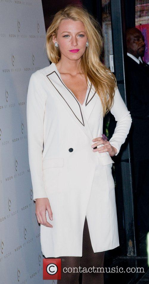 Blake Lively  Mercedes-Benz Fashion Week - Fall...