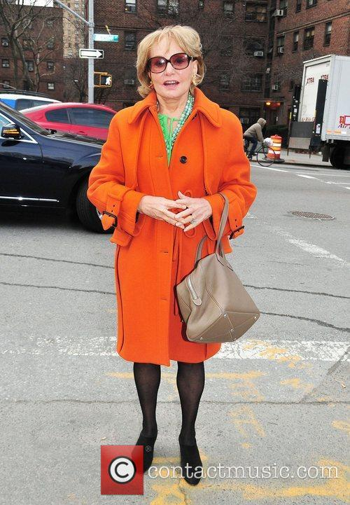 Barbara Walters Mercedes-Benz Fashion Week - Fall 2012...