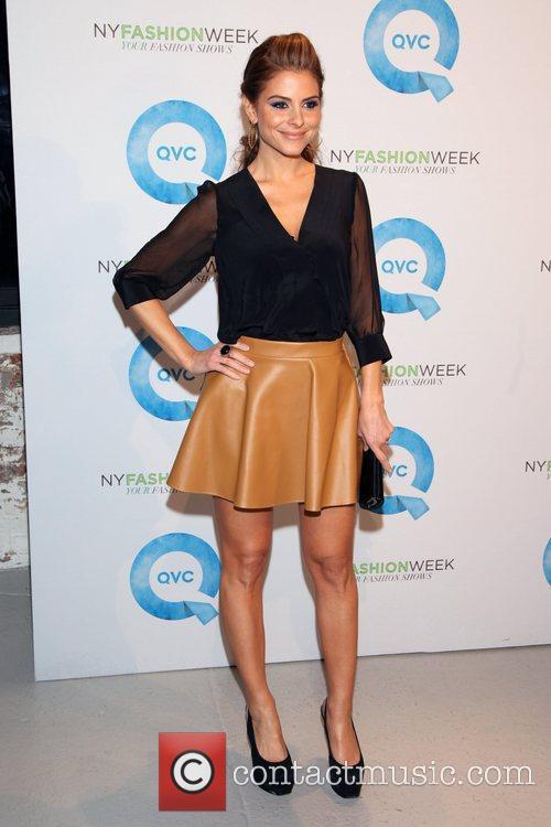 Maria Menounos and New York Fashion Week 3