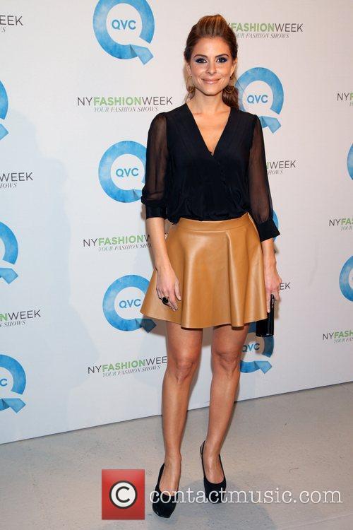 Maria Menounos and New York Fashion Week 1
