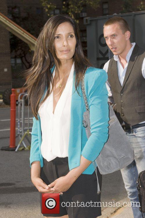 Padma Lakshmi  Mercedes-Benz New York Fashion Week...