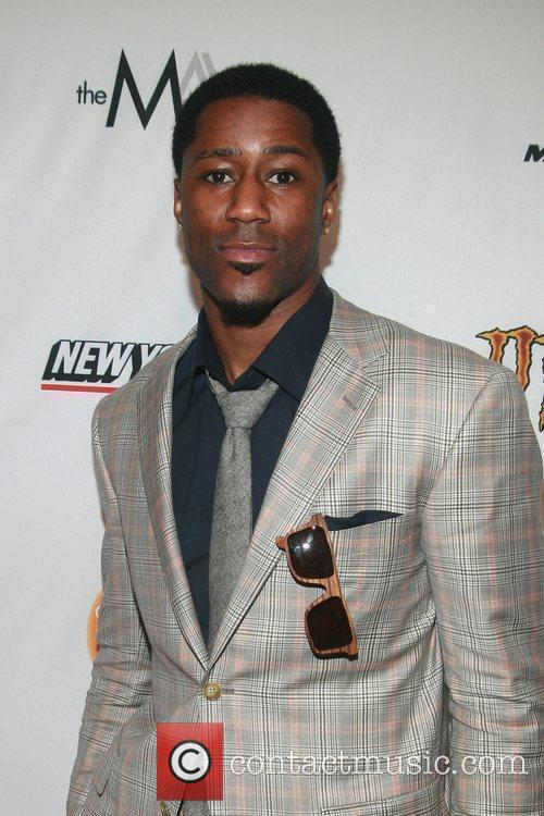 NFL Player Nate Burleson Mercedes-Benz Fashion Week -...