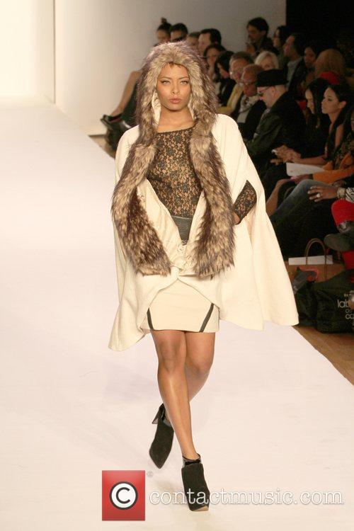 Eva Pigford Mercedes-Benz Fashion Week - Fall 2012...