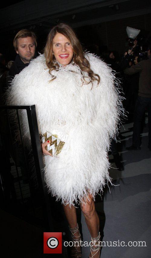 Anna Della Russo  Mercedes-Benz Fashion Week Fall...