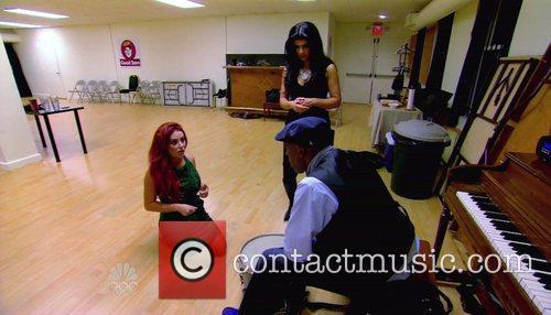 Aubrey O'Day, Teresa Giudice, Arsenio Hall NBC's 'The...