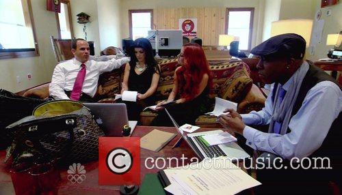 Teresa Giudice, Aubrey O'Day, Arsenio Hall NBC's 'The...