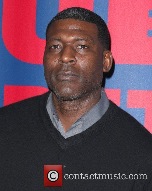 Larry Johnson  The Blue Carpet presented by...