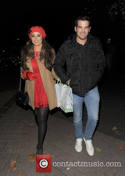 Jessica Wright and Ricky Rayment leaving the Natural...