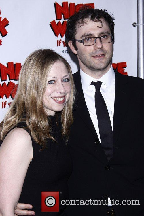 Chelsea Clinton and Imperial Theatre 2
