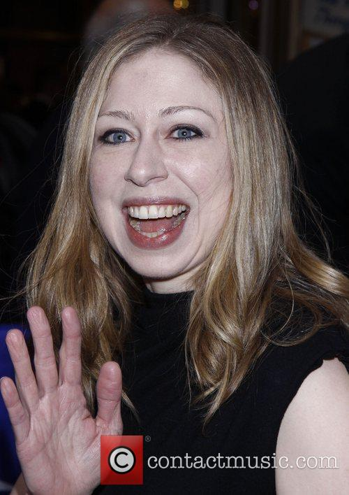 Chelsea Clinton and Imperial Theatre 5