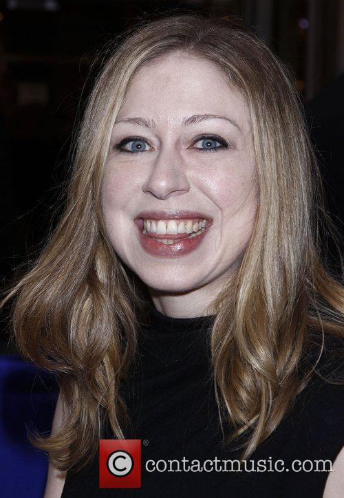 Chelsea Clinton and Imperial Theatre 6