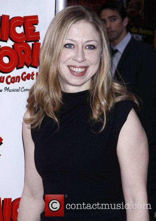 Chelsea Clinton and Imperial Theatre 1