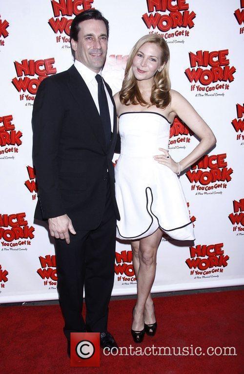 Jon Hamm, Jennifer Westfeldt and Imperial Theatre 1