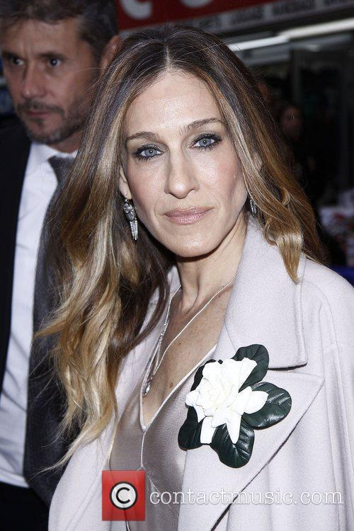 Sarah Jessica Parker and Imperial Theatre 5