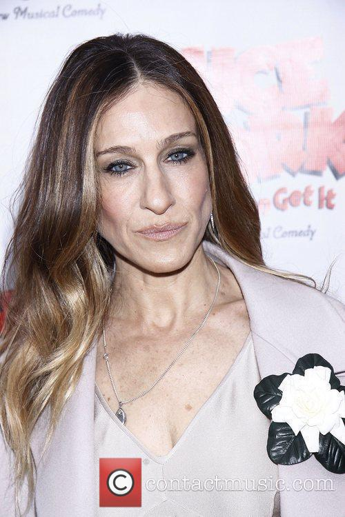 Sarah Jessica Parker and Imperial Theatre 1