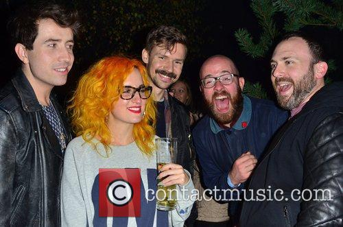 nick grimshaw and members of the band 4145103