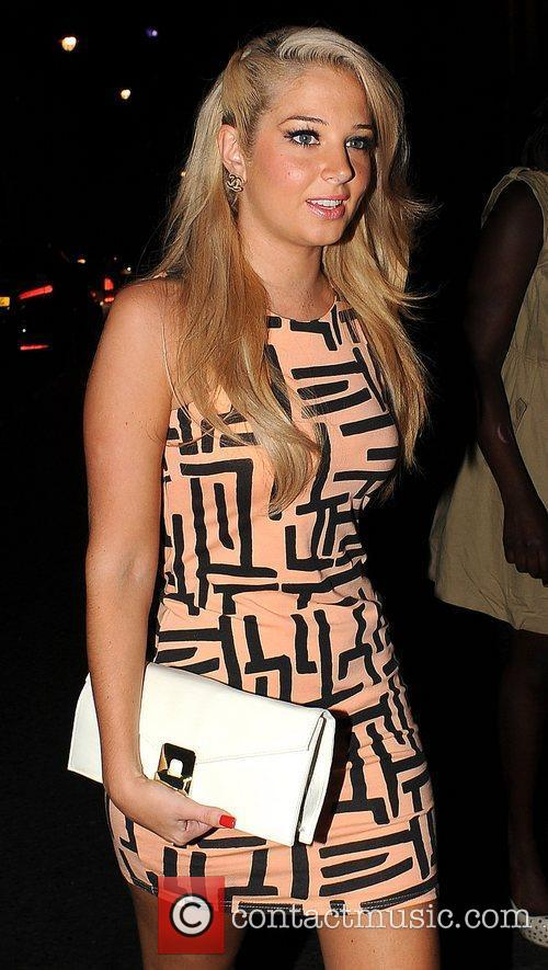 Tulisa Contostavlos and Groucho Club 2