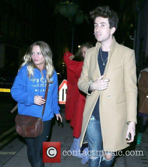 Nick Grimshaw and Samantha Morton 5