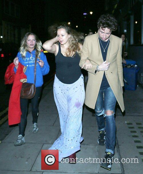 Nick Grimshaw and Samantha Morton 9