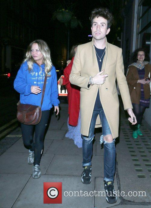 Nick Grimshaw and Samantha Morton 6