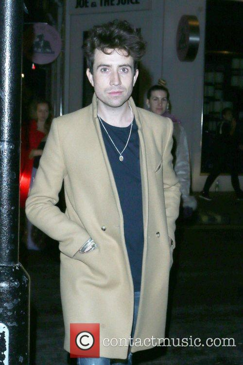 Nick Grimshaw and Samantha Morton 2