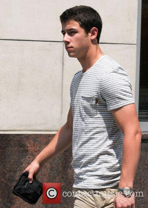 Nick Jonas out and about in Midtown Manhattan...