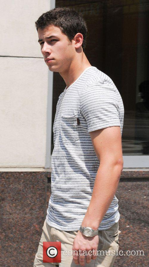Nick Jonas out and about in Midtown Manhattan