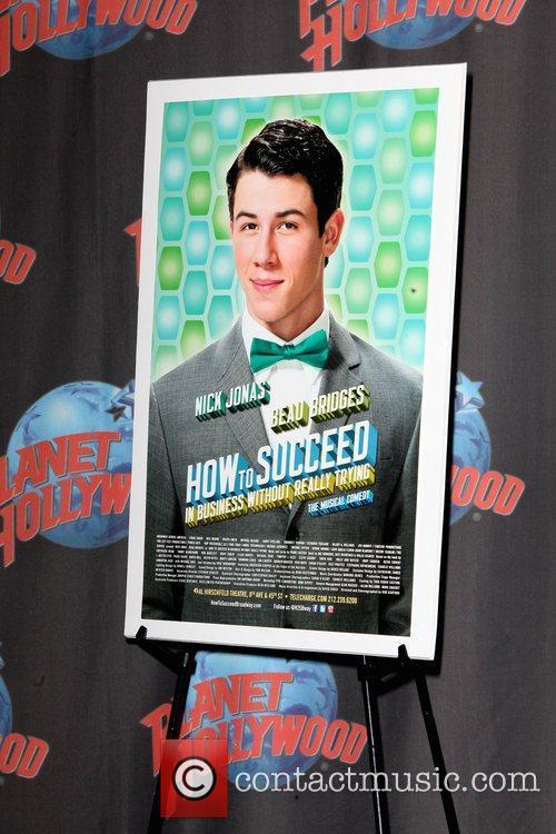 Atmosphere Nick Jonas at Planet Hollywood Times Square...