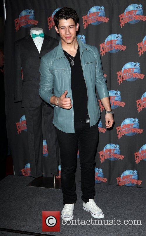 Nick Jonas and Planet Hollywood 3