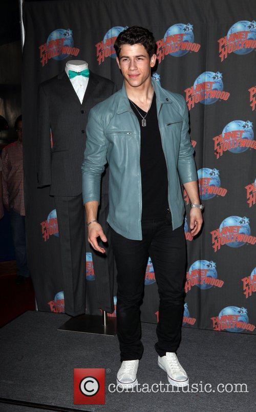 Nick Jonas and Planet Hollywood 9