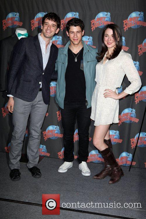 Michael Urie, Nick Jonas and Planet Hollywood 3