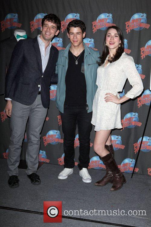 Michael Urie, Nick Jonas and Planet Hollywood 4
