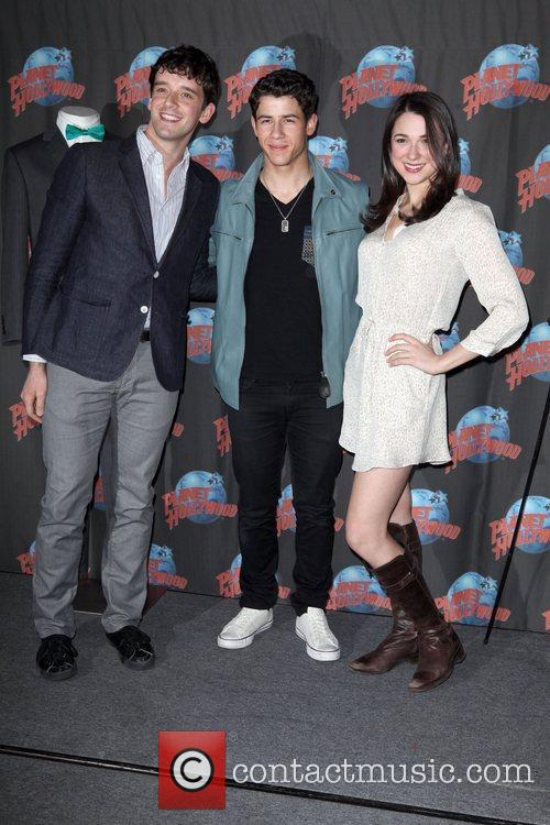Michael Urie, Nick Jonas and Planet Hollywood 5