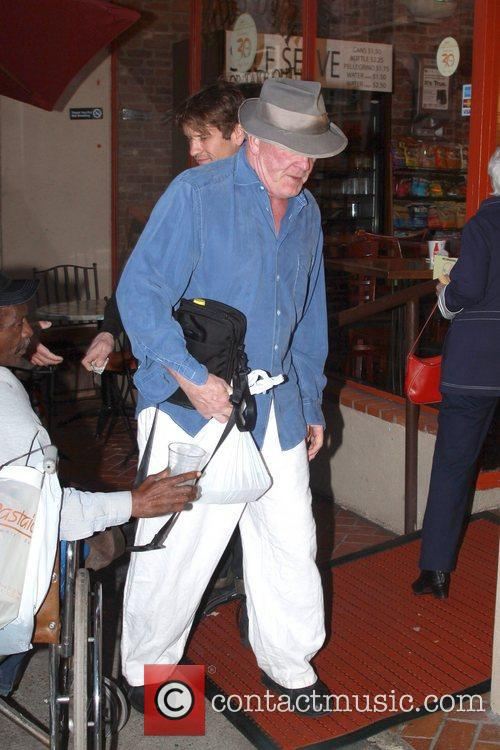 Nick Nolte leaving Judi's Deli in Beverly Hills...