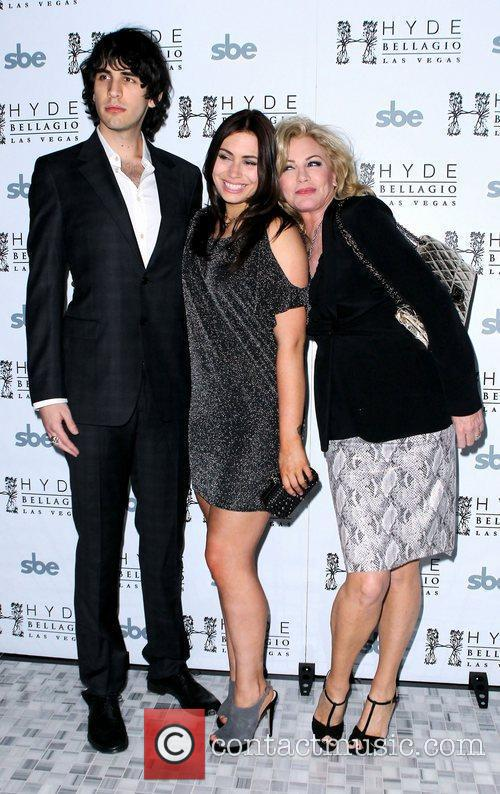 Nick Simmons, Sophie Simmons, Shannon Tweed Nick Simmons...