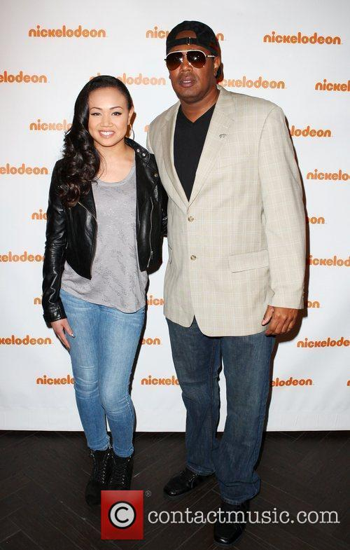 Cymphonique Miller and Master P Nickelodeon's Upfront 2012...
