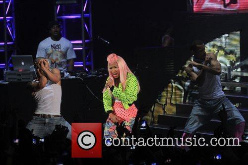Nicki Minaj and Hammersmith Apollo 4