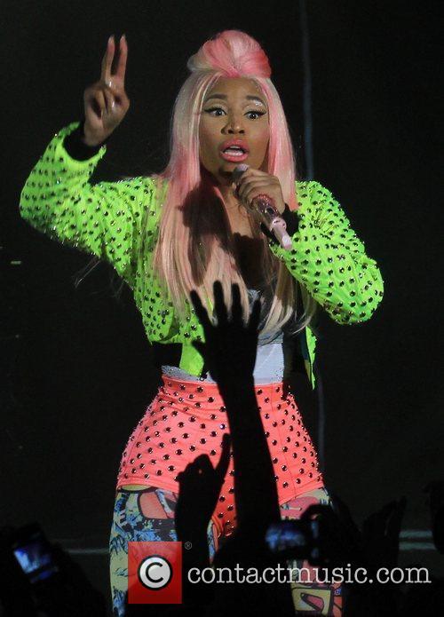 Nicki Minaj and Hammersmith Apollo 8