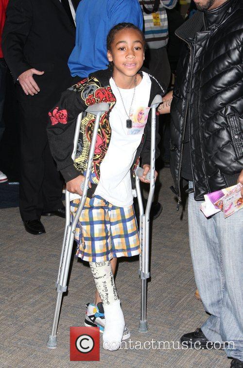 Atmosphere Nicki Minaj attends a album signing for...