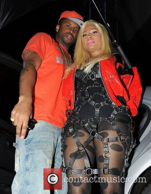 Nicki Minaj and her boyfriend Safaree 'Scaff Beezy'...
