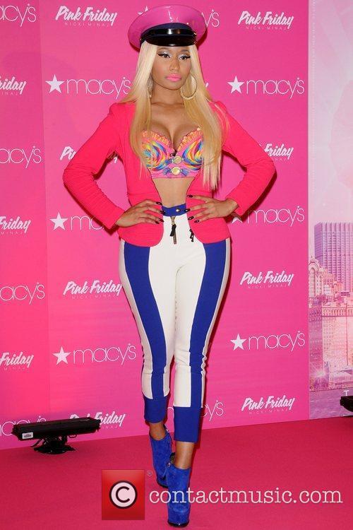 Nicki Minaj  launches her new fragrance 'Pink...