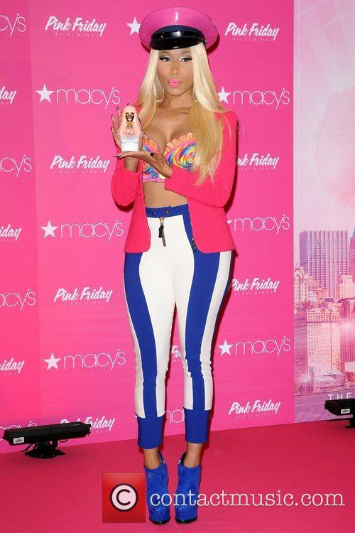 Launches her new fragrance 'Pink Friday' at Macy's...