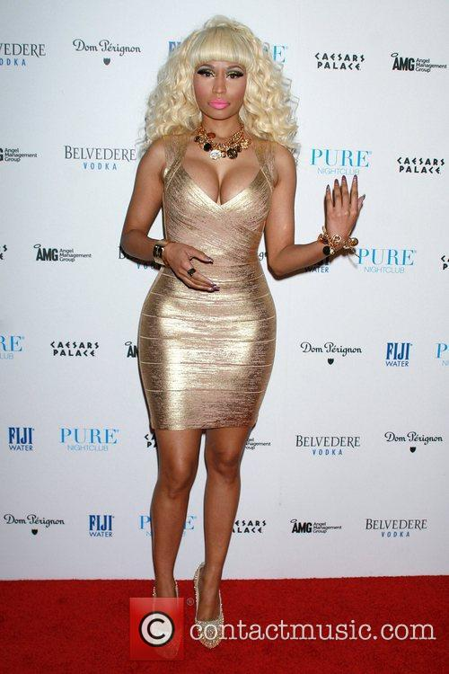 Nicki Minaj and Pure Nightclub 8