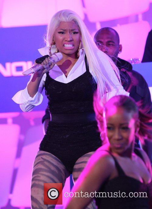 Nicki Minaj and Times Square 11