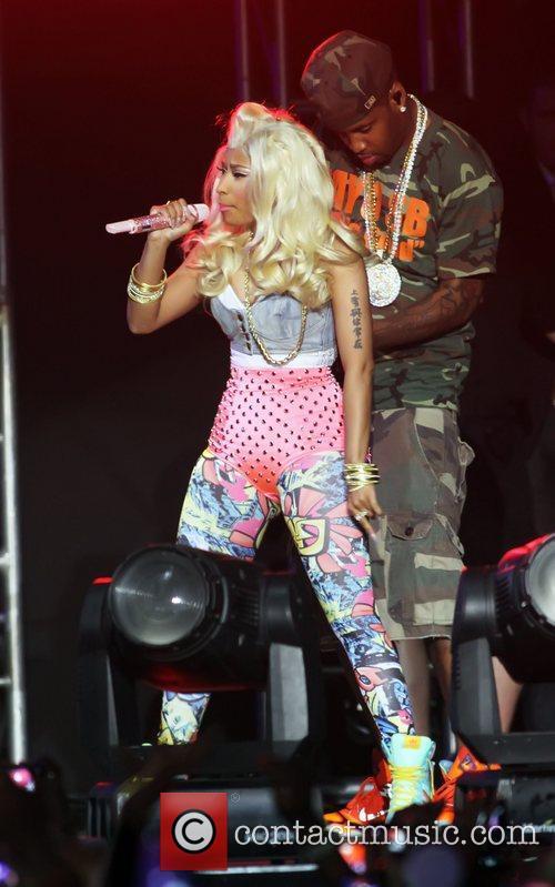 Nicki Minaj performing at the Heineken Music Hall...