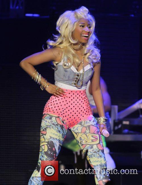 Nicki Minaj performing at the Heineken Music Hall