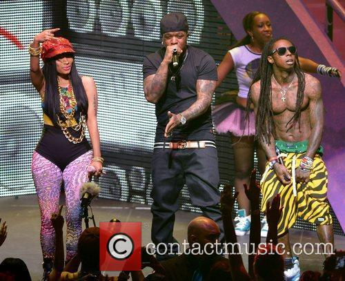 Nicki Minaj, Birdman and Lil Wayne 4