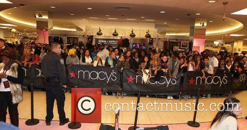 'Pink Friday' Fragrance Launch at Macy's Queens Center...