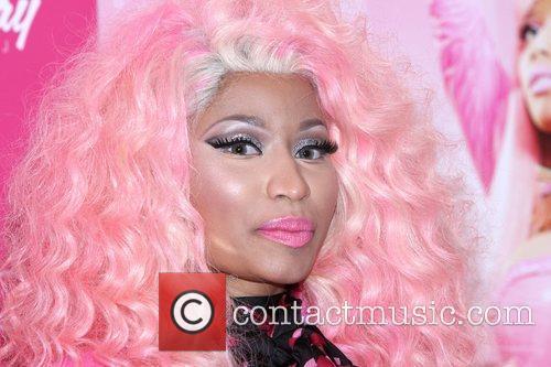 nicki minaj at her pink friday fragrance 4182337